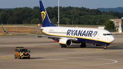 A picture of EIENN - Boeing 7378AS - Ryanair - © Christian Weber