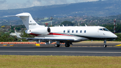 N402EF - Bombardier BD-100-1A10 Challenger 300 - Private