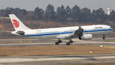 A picture of B6523 - Airbus A330343 - Air China - © XieTM