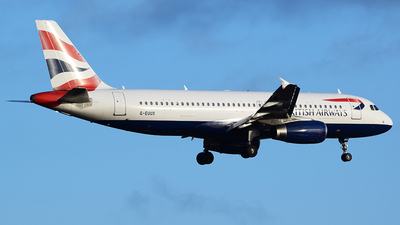 G-EUUX - Airbus A320-232 - British Airways