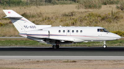 TC-ADO - Raytheon Hawker 800XP - Ado Air