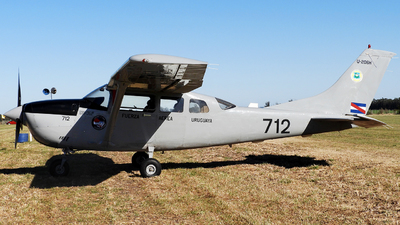 FAU712 - Cessna U206H Stationair - Uruguay - Air Force