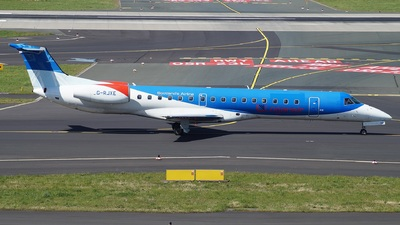 G-RJXE - Embraer ERJ-145EP - Loganair