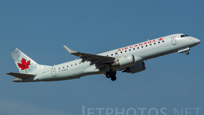 C-FHIS - Embraer 190-100IGW - Air Canada