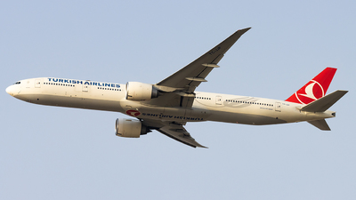 A picture of TCJJP - Boeing 7773F2(ER) - Turkish Airlines - © M Umar Aziz - Snappers Crew