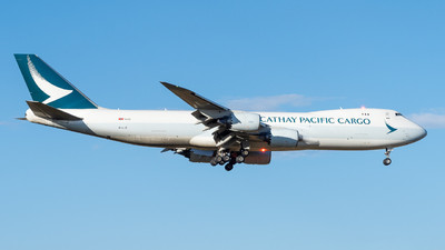 A picture of BLJB - Boeing 747867(F) - Cathay Pacific - © Mick McKean