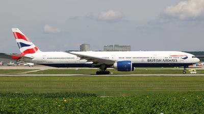 A picture of GSTBJ - Boeing 777336(ER) - British Airways - © Dominik  Hermann