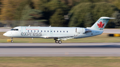 C-GKEZ - Bombardier CRJ-200LR - Air Canada Express (Air Georgian)