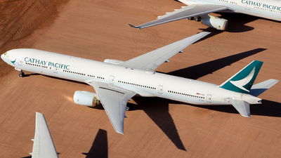 A picture of BHNV - Boeing 77731H - Cathay Pacific - © CATHAY246