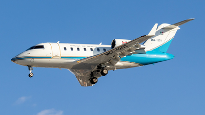 ANX-1203 - Bombardier CL-600-2B16 Challenger 605 - Mexico - Navy