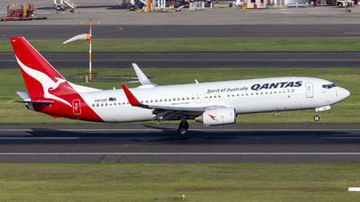 A picture of VHVXC - Boeing 737838 - Qantas - © MQ1131