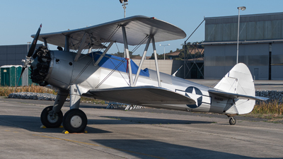 N48193 - Boeing A75N1 Stearman - Private