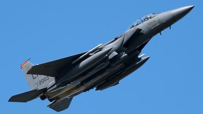01-2003 - Boeing F-15E Strike Eagle - United States - US Air Force (USAF)