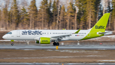 A picture of YLAAV - Airbus A220300 - Air Baltic - © Phil Khromov