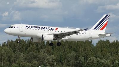 F-GKXO - Airbus A320-214 - Air France
