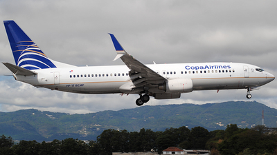 A picture of HP1718CMP - Boeing 7378V3 - Copa Airlines - © Brian Boche