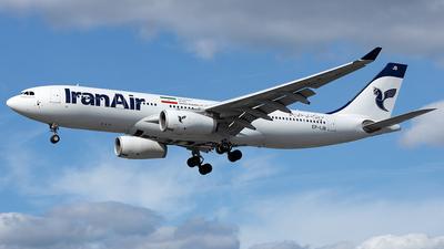 EP-IJB - Airbus A330-243 - Iran Air
