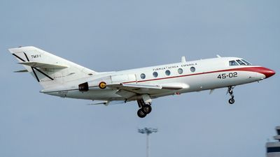 TM.11-1 - Dassault Falcon 20 - Spain - Air Force