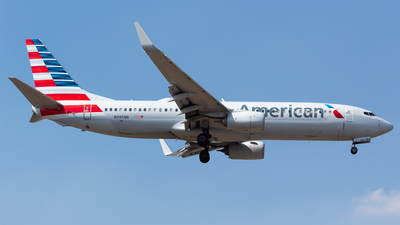 A picture of N995NN - Boeing 737823 - American Airlines - © Antonio Velasco (MAS Aviation Press)