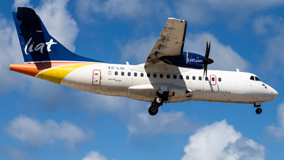 A picture of V2LID - ATR 42600 - LIAT - © Brandon Giacomin