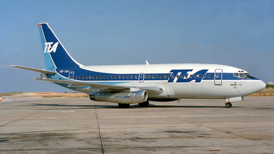 OO-TEK - Boeing 737-2Q9(Adv) - TEA - Trans European Airways
