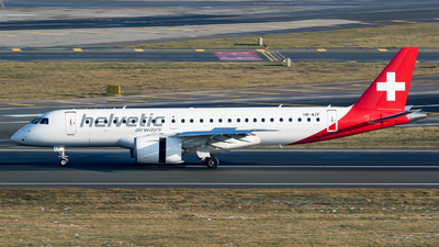 HB-AZF - Embraer 190-300STD - Helvetic Airways