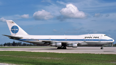 N635PA - Boeing 747-121 - Pan Am