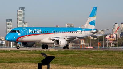 LV-CKZ - Embraer 190-100IGW - Aerolíneas Argentinas