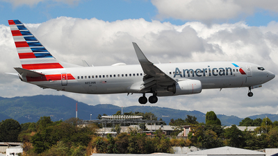 A picture of N853NN - Boeing 737823 - American Airlines - © Brian Boche