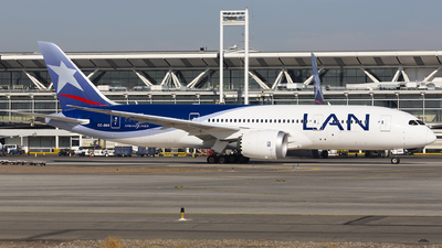 CC-BBE - Boeing 787-8 Dreamliner - LAN Airlines