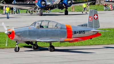 HB-RCQ - Pilatus P-3-05 - P3 Flyers Ticino