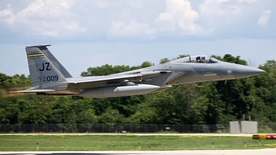 82-0009 - McDonnell Douglas F-15C Eagle - United States - US Air Force (USAF)