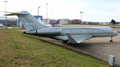 9H-IBD - Bombardier BD-700-1A11 Global 5000 - Malta Air Charter
