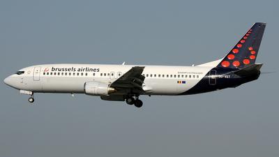 OO-VET - Boeing 737-4Q8 - Brussels Airlines