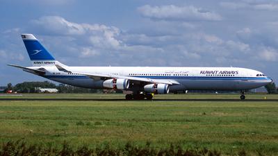 9K-ANB - Airbus A340-313 - Kuwait Airways