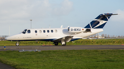 D-IEKU - Cessna 525A CitationJet 2 - Excellent Air