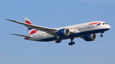 G-ZBJI - Boeing 787-8 Dreamliner - British Airways