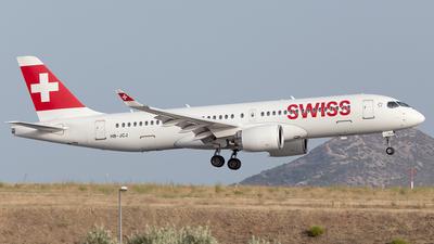 A picture of HBJCJ - Airbus A220300 - Swiss - © Oksana