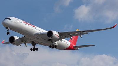 A picture of ECNGT - Airbus A350941 - Iberia - © CityHopper