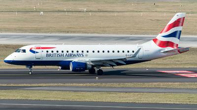 G-LCYD - Embraer 170-100STD - BA CityFlyer