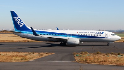 JA74AN - Boeing 737-881 - All Nippon Airways (ANA)