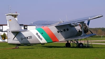 D-FWJD - PZL-Mielec An-2 - Private