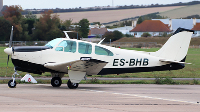ES-BHB - Beechcraft C33 Debonair - Private