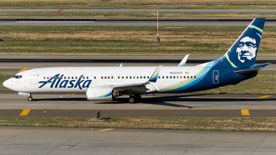 A picture of N584AS - Boeing 737890 - Alaska Airlines - © global_flyer1
