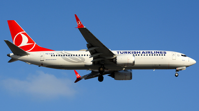 TC-LCA - Boeing 737-8 MAX - Turkish Airlines