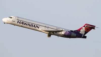 A picture of N493HA - Boeing 7172BL - Hawaiian Airlines - © Liam Mackinnon