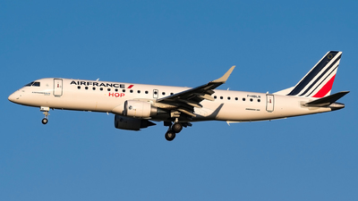 F-HBLN - Embraer 190-100STD - Air France HOP