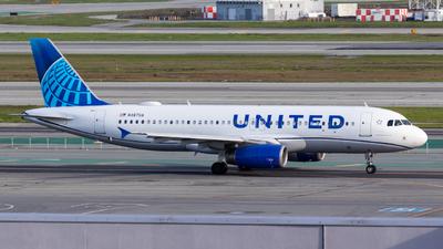 N487UA - Airbus A320-232 - United Airlines