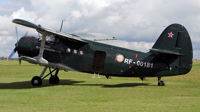 RF-00181 - PZL-Mielec An-2T - Russia - Voluntary Society for Assistance to the Army, Air Force and Navy (DOSAAF)