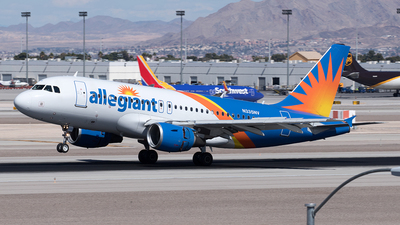 N335NV - Airbus A319-111 - Allegiant Air